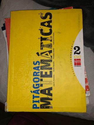 Libro matemáticas 2Eso SM