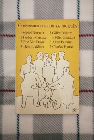 Libro Conversaciones con los radicales