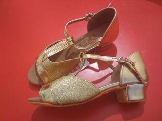 zapatos baile niñas talla 34