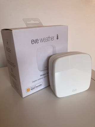 Eve Weather Estacion Meterologica Apple Homekit