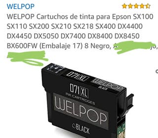 cartuchos tinta Epson y compatibles