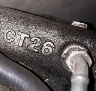 105173 Turbo TOYOTA SUPRA (A8) ct26.