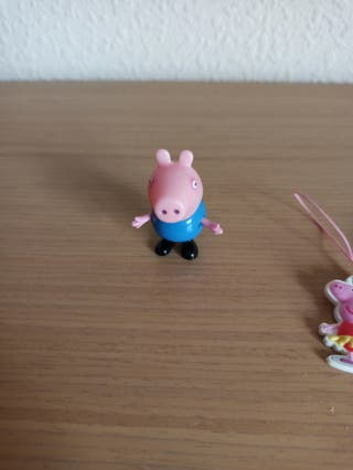 muñeco george de peppa pig