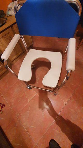 silla de discapacitados wc y ducha