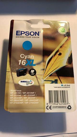 cartuchos de tinta nuevos para impresora Epson
