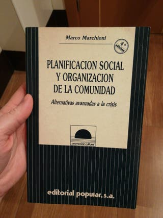 PLANIFICACIÓN SOCIAL Y ORGANIZACIÓN DE LA COMUNIDA