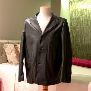 Jaqueta blazer de pell per home (Talla L/XL)