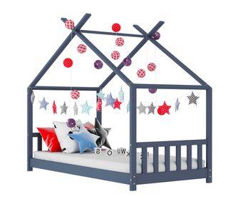 Estructura de cama infantil madera maciza 90×200cm