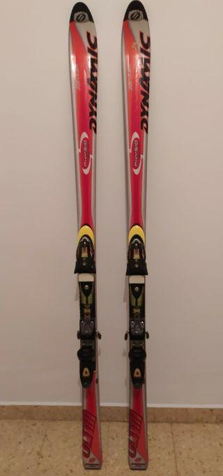 Esquís y fijaciones Dynamic