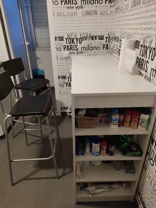 Mesa alta cocina (con o sin sillas)