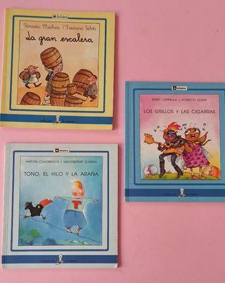 3 cuentos, libros infantiles