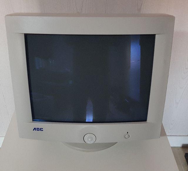 Monitor pc retro