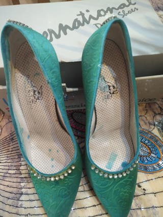 zapatos de baile de salón