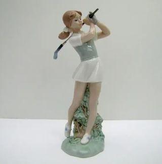 """Figura NAO LLADRO """"FLAT FEMENINO """" 24x13cm"""
