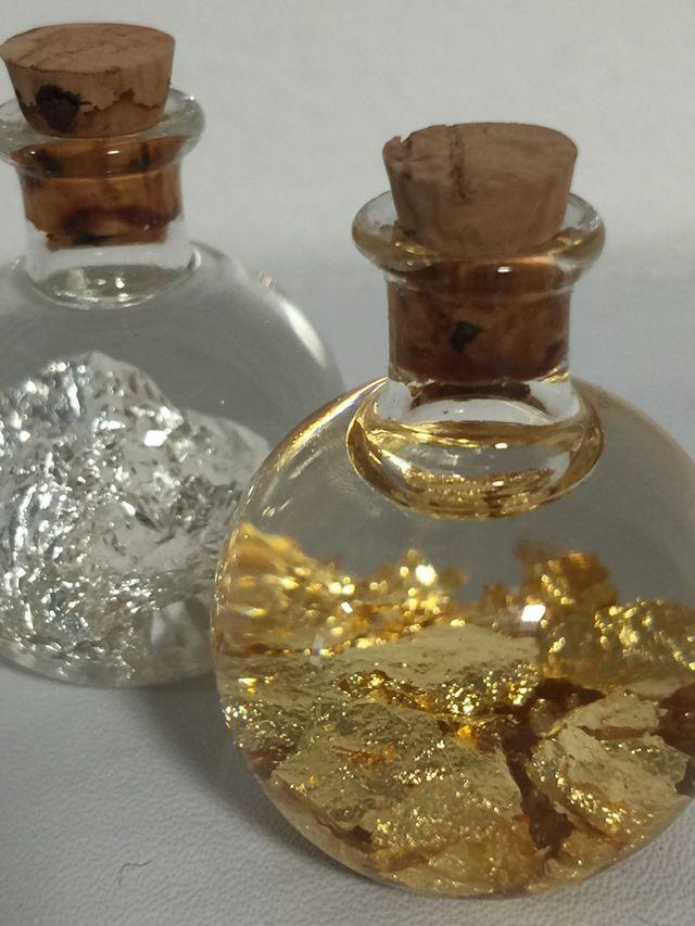 Oro (22k) y plata (999)