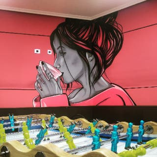 pintor muralista graffiti decorador