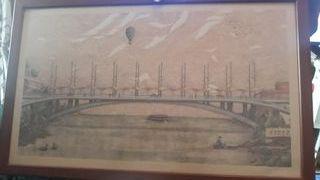 cuadros de puentes de Sevilla