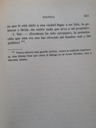 Libros Platón I II III IV y V año 2000 Gredos