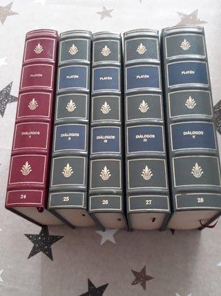 Libros Platón I II III IV y V año 2000