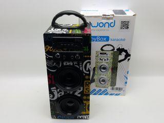 Altavoz Bluetooth Biwond Joybox Karaoke Band 94425