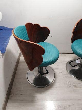 Vendo 2 sillones vintage de peluqueria