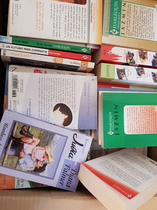 novelas / libros harlequin,Bianca,deseo,Julia...