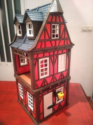 casa de Playmobil medieval