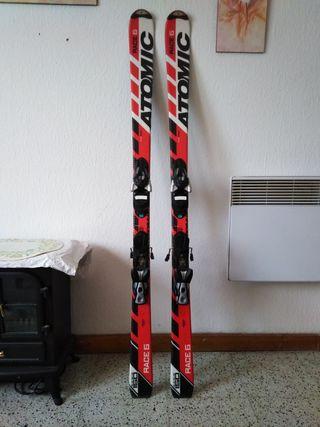 Esquís ATÒMIC (RACE 6)