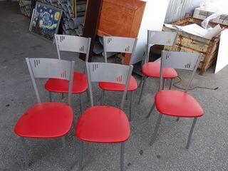 juego de 6 sillas de cocina