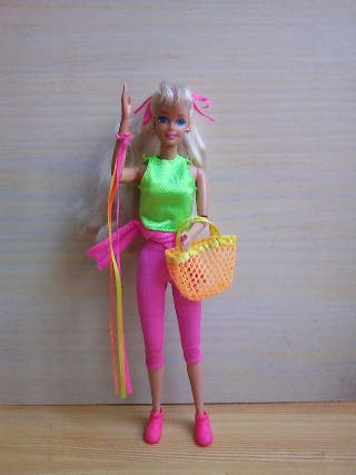 barbie gimnasta vintage