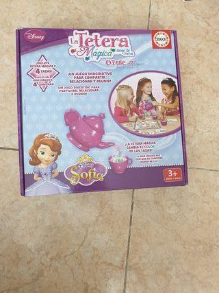 juego el te de la princesa Sofía