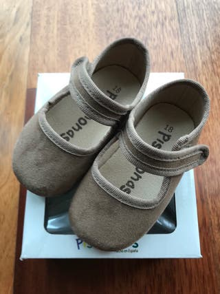 Zapatos Merceditas bebé Pisamonas número 18