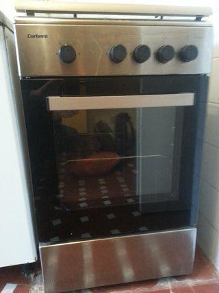 Cocina gas natural con horno Corbero