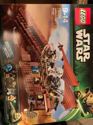 Lego 75020 Starwars Barcaza de Jawa