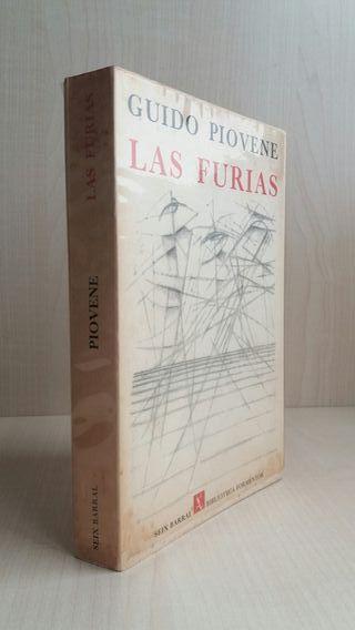 Libro Las furias. Guido Piovane.