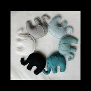 colgantes y tiras para bebes y niños