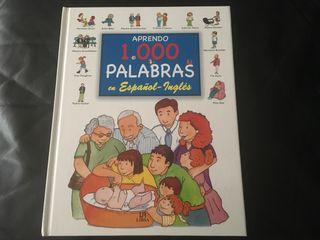 Libro bilingüe español-inglés para niños