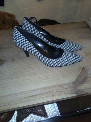zapato pata de gallo