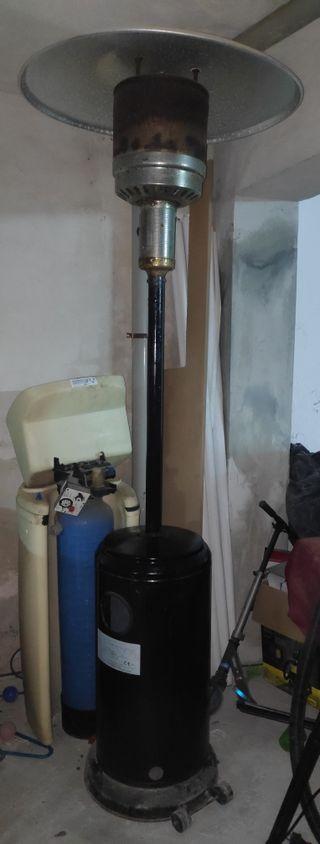 estufa de gas para exterior tipo seta
