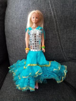 muñeca barbie de famosa