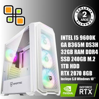 PC Gaming I5 9600K /32GB DDR4 RGB/RTX 2060/SSD 240
