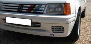 paragolpes spoiler del. Peugeot 205