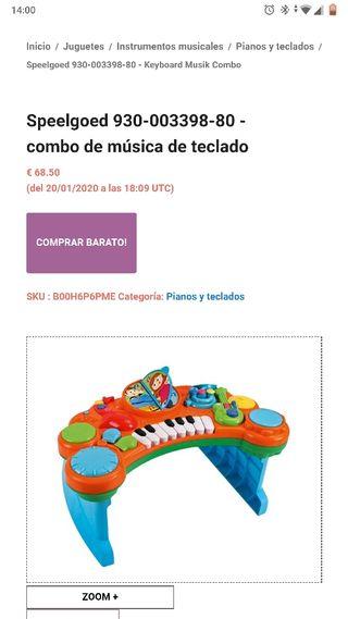 Combo musical 10 en 1 de buble box