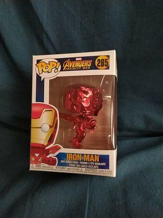 Funko pop Iron man Chrome
