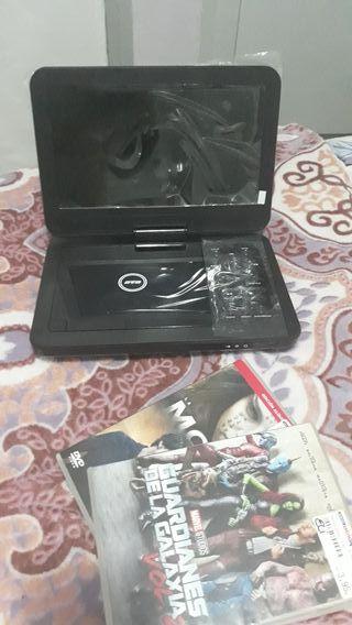 Reproductor DVD, CD, MP3,JPG con pantalla