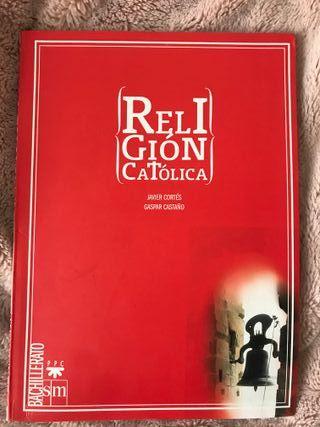 """Libro: """"Religión Católica"""" Bachillerato"""