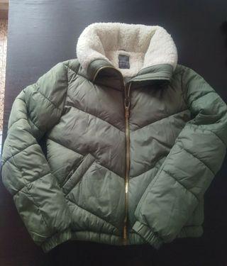 chaqueta xs/34 verde nueva