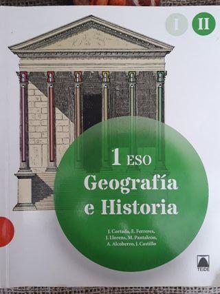 Libro II de Geografia e Historia 1ESO