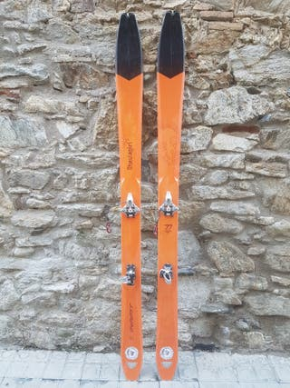 esquís de muntanya travesia skimo