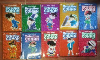 Lote 11 Comics Detective Conan